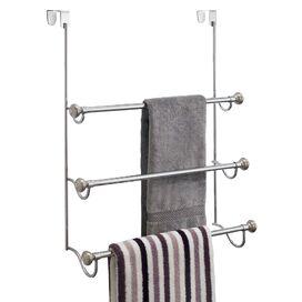 3-Tier Over-Door Towel Rack