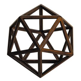 Icosahedron Sculpture