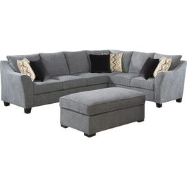 Cadfan 128'' Right-Facing Sectional Sofa