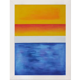 Yellow, Red, Blue by Rothko Framed Canvas Reproduction