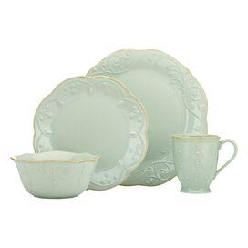 4-Piece Shoshanna Dinnerware Set in Pistachio