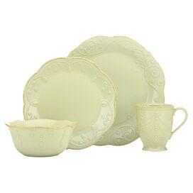 4-Piece Shoshanna Dinnerware Set in Pistachio