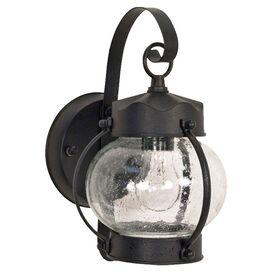 Dylan Outdoor Wall Lantern in Black