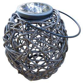 Francesca Rattan Solar Lantern