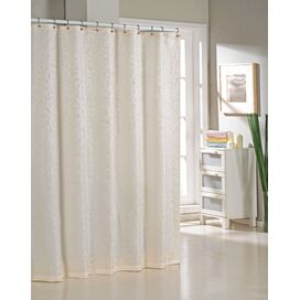 Livingston Shower Curtain in Ivory