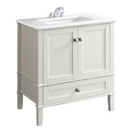 Chelsea Bathroom Vanity in White