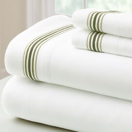 4-Piece Aster Sheet Set in Sage