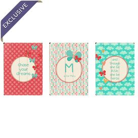 Personalized Chase Your Dreams Wall Decor (Set of 3)