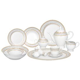 57-Piece Giada Porcelain Dinnerware Set