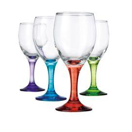 4-Piece Carnivale White Wine Glass Set