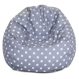 Camilla Indoor/Outdoor Kids Beanbag in Gray