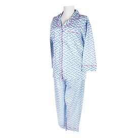 2-Piece Molly Pajama Set in Blue
