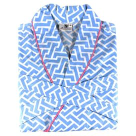 Brick Robe in Blue