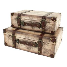 2-Piece Windsor Trunk Decor Set