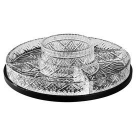 Dublin Crystal Chip & Dip Platter