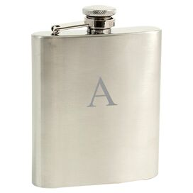 Personalized Draper Stainless Steel Flask