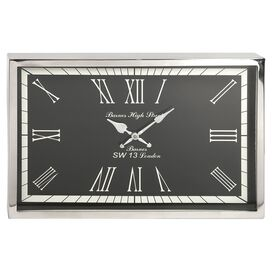 Wadsworth Wall Clock in Black