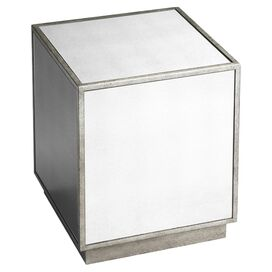 Loft Mirrored Side Table