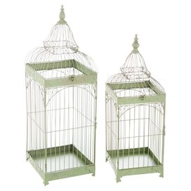 2-Piece Aviary Planter Set