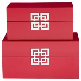 2-Piece Shannon Trinket Box Set