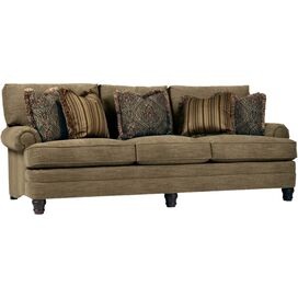 "Finley 98"" Sofa in Dark Beige"