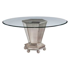 Renaldi Mirrored Dining Table