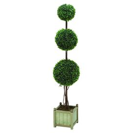 Faux Ball Topiary