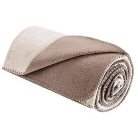 Arielle Throw in Ivory & Taupe