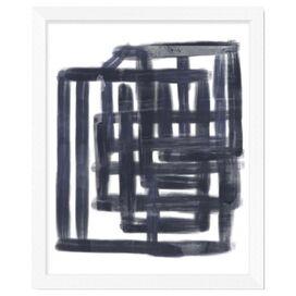 Line Work I Framed Giclee Print