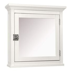 Madison Mirrored Medicine Cabinet in White