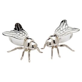 Winged Bee Salt & Pepper Shakers