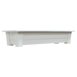 Jasper Deck Planter in White