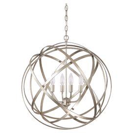 Elliott 4-Light Pendant in Winter Gold