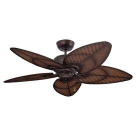 Yvonne Indoor/Outdoor Ceiling Fan in Venetian Bronze