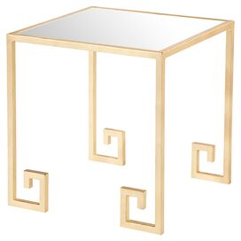 Rochelle Mirrored Side Table