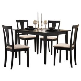 HD wallpapers 5 piece alberta dining set in antique white