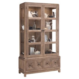 Brentwood Display Cabinet in Natural