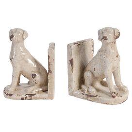 Huntley Dog Bookend (Set of 2)