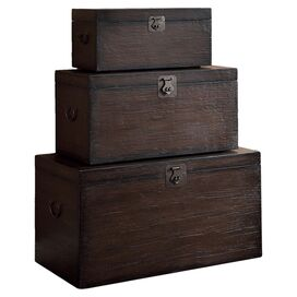 3-Piece Emmett Trunk Set