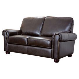 Bliss Leather Loveseat