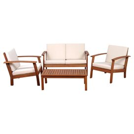 4-Piece Culmer Patio Seating Group Set