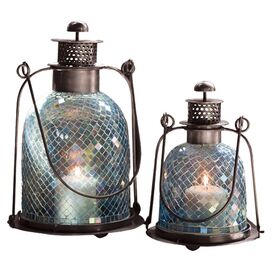 2-Piece Boheme Candle Lantern Set