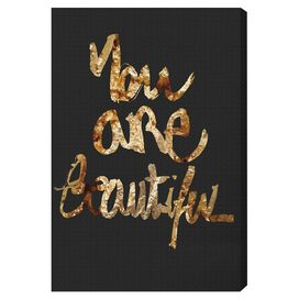 Oliver Gal & Co. You Really Are Gold Canvas Print