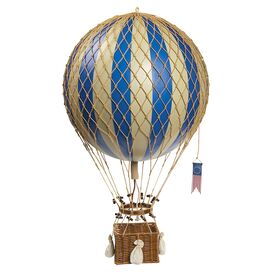 Hot Air Balloon Decor in Blue
