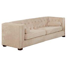 """Alexa 86"""" Tufted Sofa"""