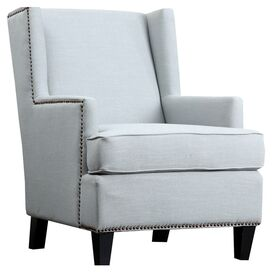 Callie Arm Chair in Blue