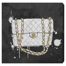 Everything But My White Bag Canvas Print, Oliver Gal