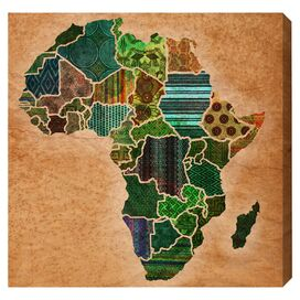Mother Africa Canvas Print, Oliver Gal