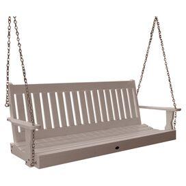 Lynnport Porch Swing in White