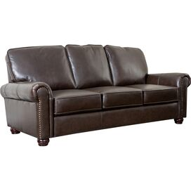 "Bliss 86"" Leather Sofa"